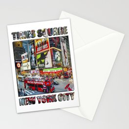 Times Square  NYC Stationery Cards