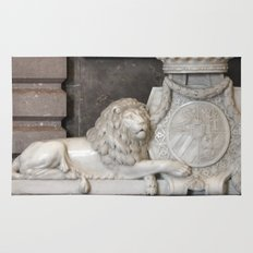 Lion and the coat of arms Rug