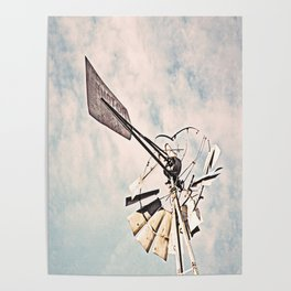 """Windmill Ruin"" by Murray Bolesta Poster"