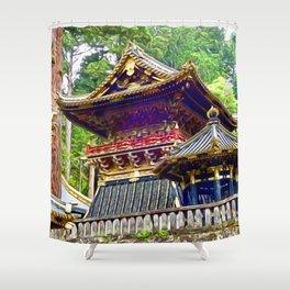 Tosho-gu Shrine, Nikko, Japan Shower Curtain