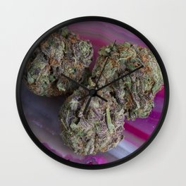 Grape Ape Medicinal Medical Marijuana Wall Clock