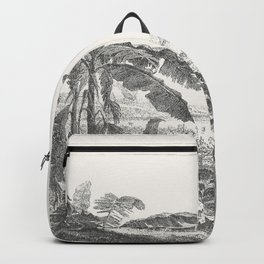 Palms and Mountain Backpack