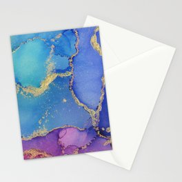 Ocean Marble - Part 1 Stationery Cards