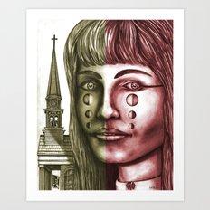 The Church 1 Art Print