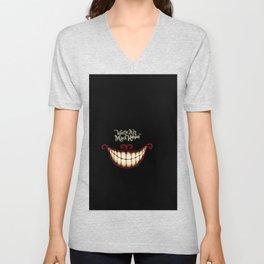 Crazy smile Unisex V-Neck