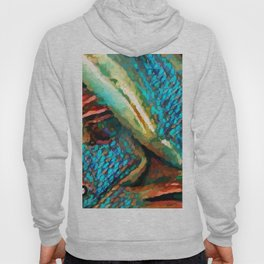 Belly Button Scales Hoody