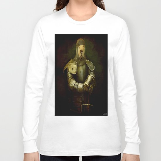 dog in armor Long Sleeve T-shirt