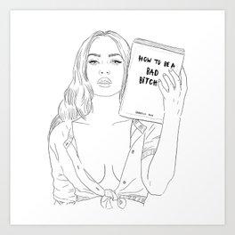 The Guidebook Art Print