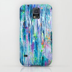 Silver Rain Galaxy S5 Slim Case