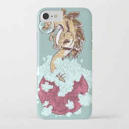 Space Stegosaurus  iPhone Case