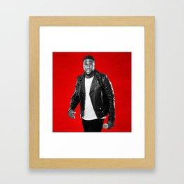 KEVIN HART WORLD TOUR DATES 2019 JARJIT Framed Art Print