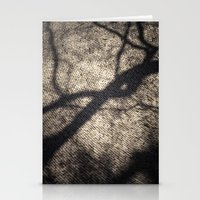 shadow Stationery Cards featuring Shadow by Maria Heyens