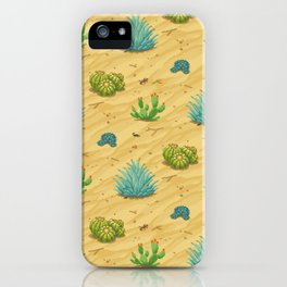 Pixel Desert iPhone Case