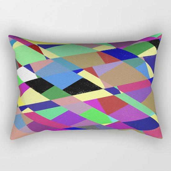 Pastel Geometry 2 Rectangular Pillow