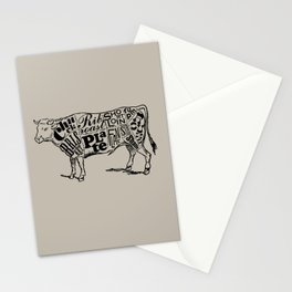 Cow Cuts Stationery Cards