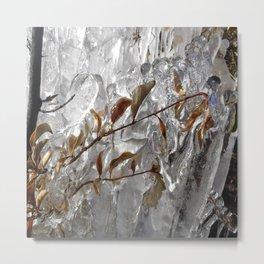 Ice land. Metal Print