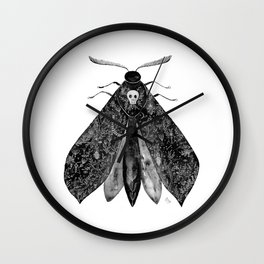 The Moth and All His Friends Wall Clock