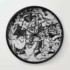 liquid journal Wall Clock