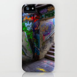 Leake Street London Graffiti iPhone Case