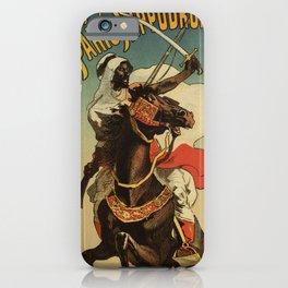 1887 Paris Desert Arabian expo advertising iPhone Case