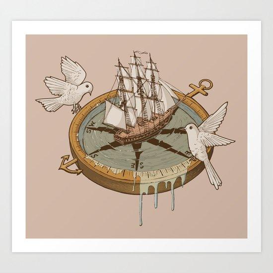 An Odyssey Art Print