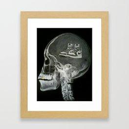 SneakerHead Framed Art Print