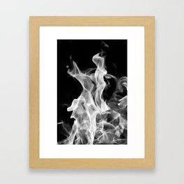 Smoke or Fire Framed Art Print