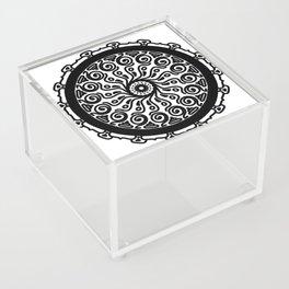 Confidence: Self-empowerment Mandala Acrylic Box