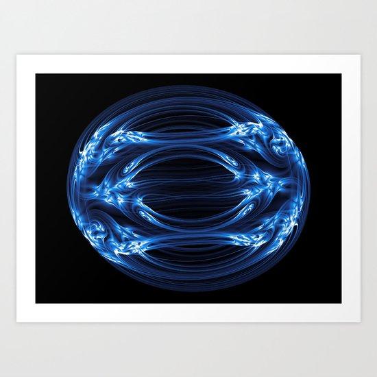 Magnetic Egg Art Print