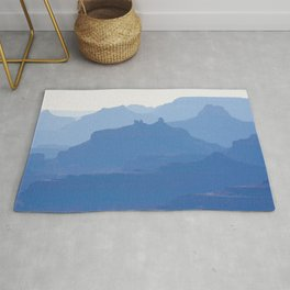 Grand Canyon blue ridges Rug