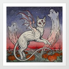 Spirits Of All Hallows Eve Art Print