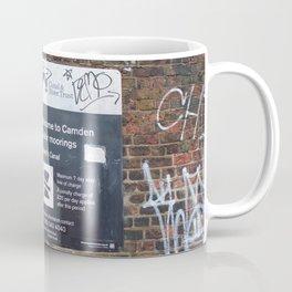 Camden moorings sign Coffee Mug