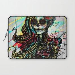 Vivid Muerte Laptop Sleeve