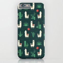 Fleece Navidad and Cactus iPhone Case