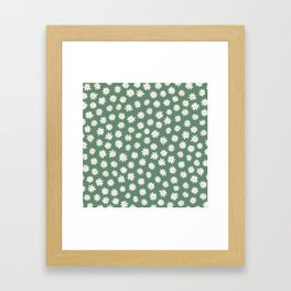 Daisy fields Framed Art Print