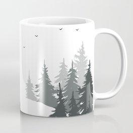 Mist the mountains  Coffee Mug