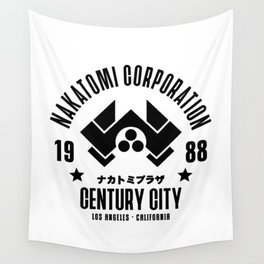 Nakatomi Corporation Wall Tapestry
