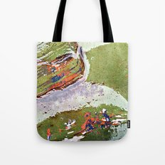 Auto Abstract Tote Bag
