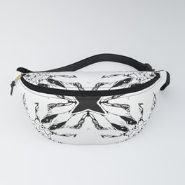 Abstract Mirror_14 Fanny Pack