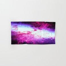 Galaxy Messier 82 Fuchsia Purple Hand & Bath Towel