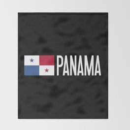 Panama: Panamanian Flag & Panama Throw Blanket