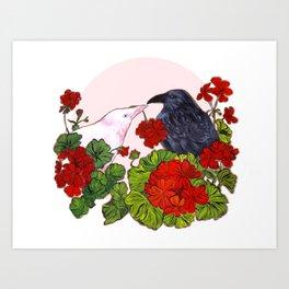 Please Be Mine---Pink version Art Print