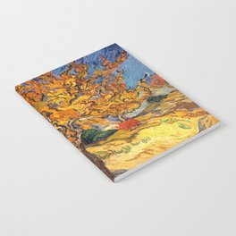 The Mulberry Tree by Vincent van Gogh Notebook