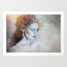The Winter Fae Art Print