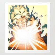 Power Levels Art Print