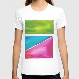 180811 Watercolor Block Swatches 5| Colorful Abstract |Geometrical Art T-shirt