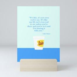 Luke's café Mini Art Print