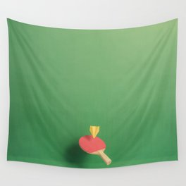 Paper Plane Pong Wall Tapestry