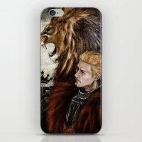 "dragon age inquisition iPhone & iPod Skins featuring Dragon Age Inquisition - Cullen - Fortitude by Barbara ""Yuhime"" Wyrowińska"