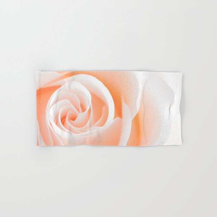 Rose´s heart I- Beautiful roses flower in pink Hand & Bath Towel